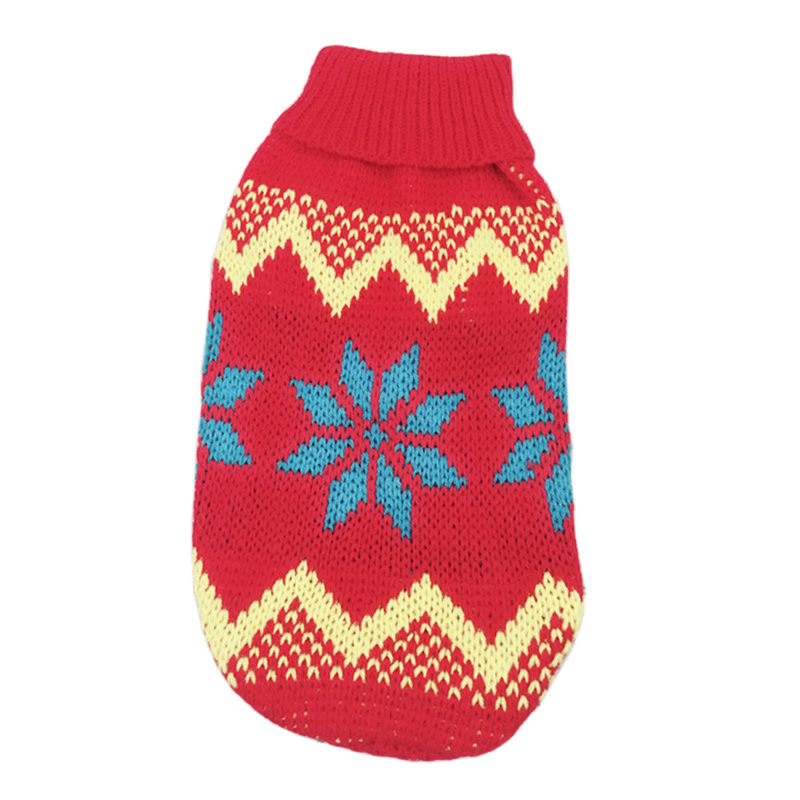 Christmas Cat Dog Sweater Pullover Winter Dog Clothes for Small Dogs Chihuahua Yorkies Puppy Jacket Pet Clothing ubranka dla psa