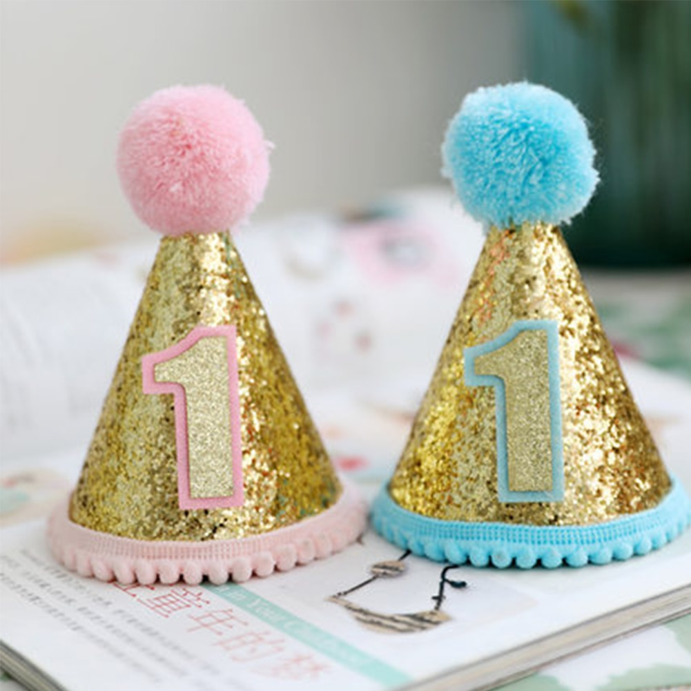 Pet Dog Cat Sequins Hat Puppy Accessory Party Costume Headwear Birthday