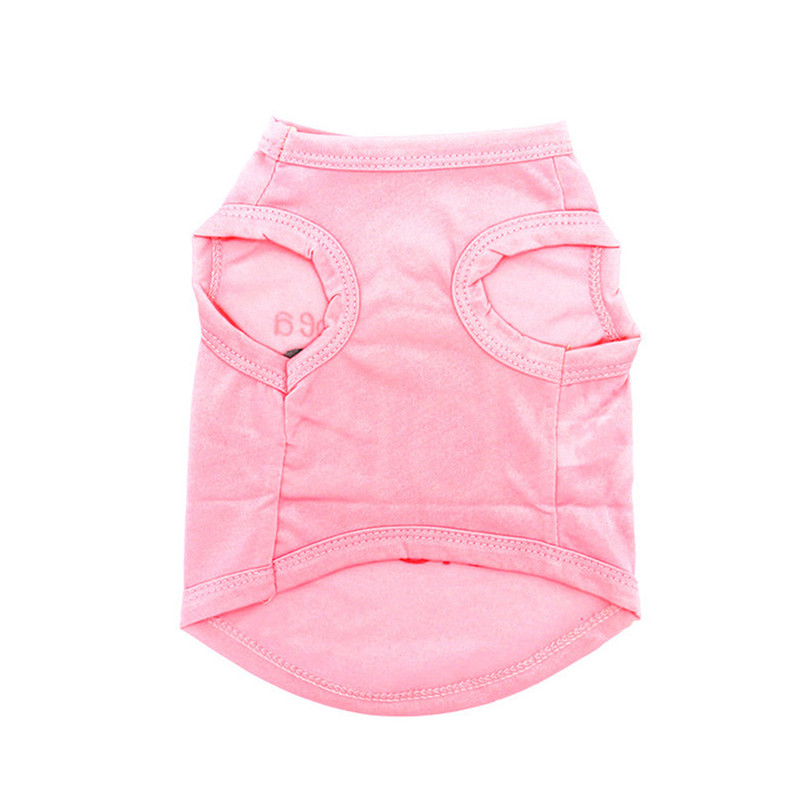 Small Dog Clothes Cat Vest Pet Cool Clothes Summer Polyester Vest Cool Breathable Puppies Chihuahua Costume Pet Product Puppy