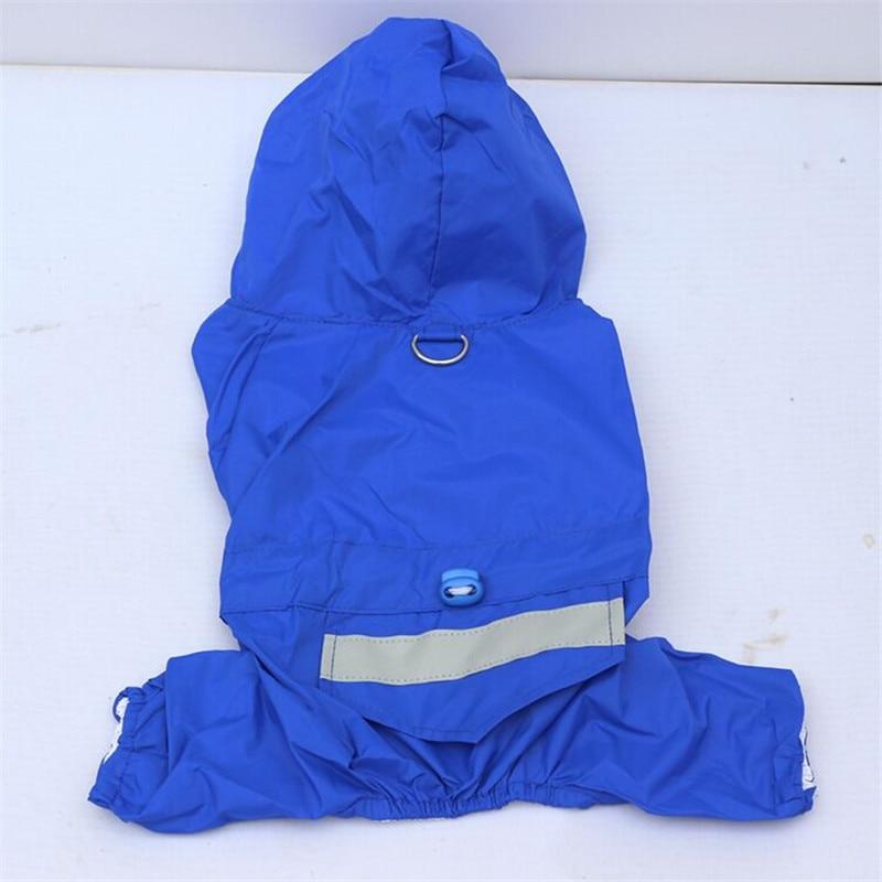 Dog Rain Coat Clothes Puppy Casual Raincoats Waterproof Coat Costumes XS-XXL 4 color Pet Supplies for puppy dog clothes