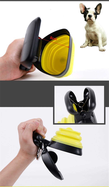 Dog Poop Bag Dispenser Travel Foldable Pooper Scooper Poop Scoop Clean Pick Up Animal Waste Waste Picker Cleaning Pet Products
