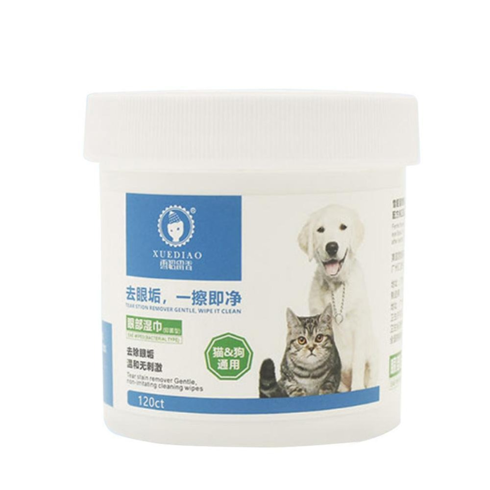Pet Eye Wet Wipes Cat Dog Tear Stain Remover Cleaning Paper Towels Remover Sand and Cleaning Products