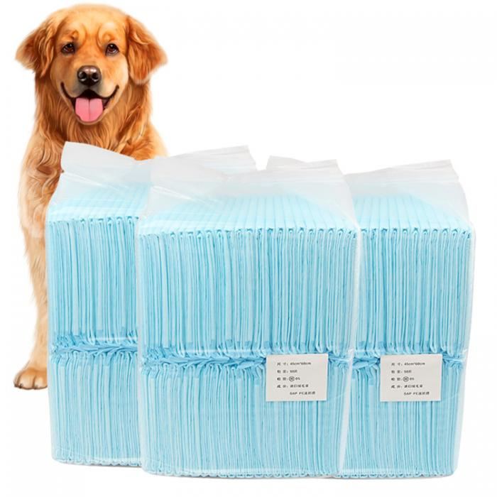 1 Bag Multi-size Cat Dog Diapers Absorbent Urine Pad Disposable Diaper Pet Dog Mat Nappy Pet Pee Paper Cleaning Antibacterial
