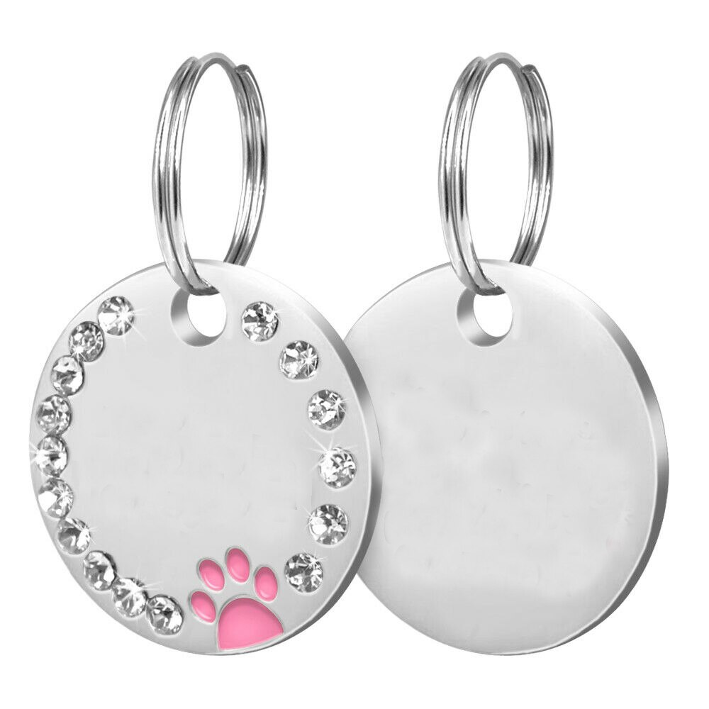 pink paw blank