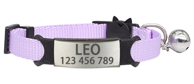 Personalized ID Free Engraving Cat Collar Safety Breakaway Small Dog Cute Nylon Adjustable for Puppy Kittens Necklace