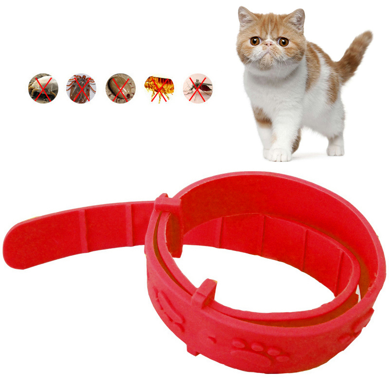 1Pcs Anti-Flea Collar Lovely Style for Cat continued Remove Fleas Lice Mites Mosquitoes Insect Pet Safety Cleaning Supplies