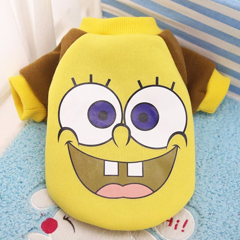 Cartoon Cat Costume Cute Cozy Pet Clothes for Cats  Katten Kedi Hoodie Mascotas Gato Sweatshirt Cat Sweater Pets Clothing Outfit