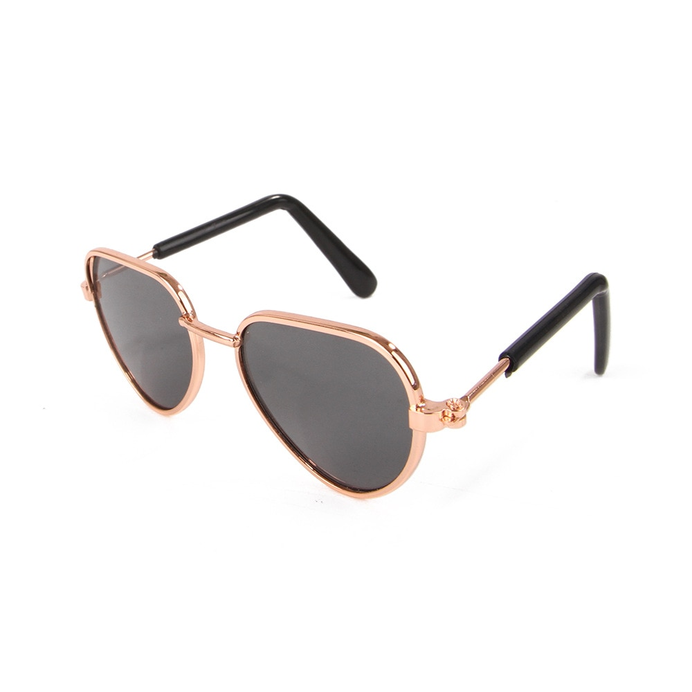Funny Eye-wear Cat Glasses Cool Sunglasses For Small Dogs Halloween Cosplay Photos Props Pet Grooming Accessories Supplies
