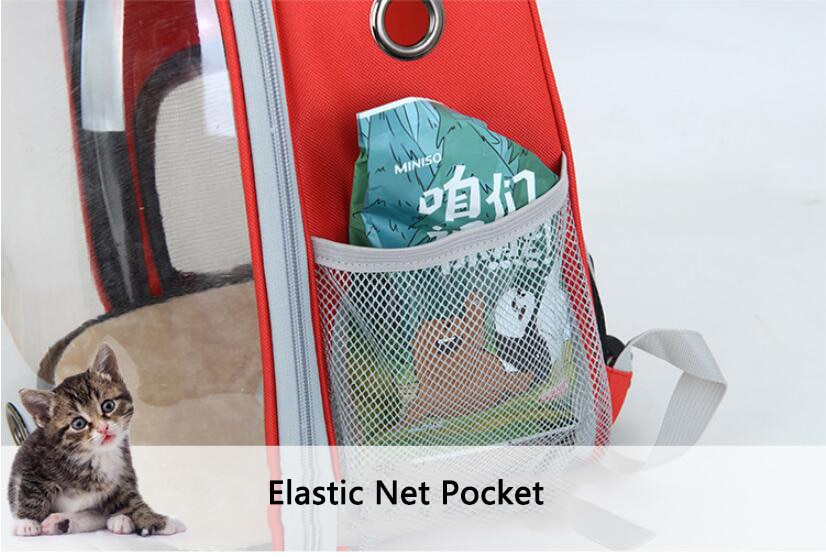 7 Colors Breathable Small Pet Carrier Bag for dog cat Portable Pet Outdoor Transparent Travel Backpack Dog Cat Carrying Cage