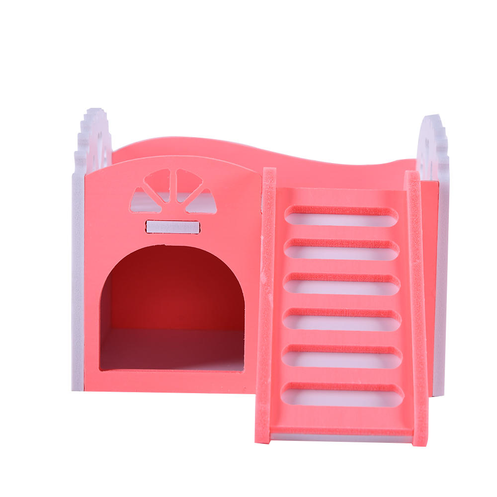 Solid Hamster House Cages Rat Small Pet Sleeping Nest Hamster Cage Rat House Hamsters Guinea Pig Houses Pet Accessories ZG0003