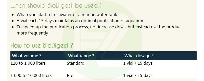 Prodibio BioDigest fish tank PRODIBIO Aquarium Care Bacterial Solution fish tank