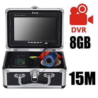 15M double LED DVR