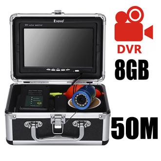50M double LED DVR