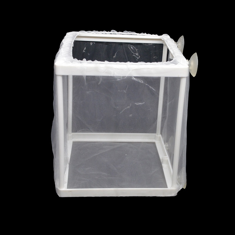 Aquarium Fish Breeding Breeder Box Baby Fish Hatchery Isolation Net Fish Tank Incubator Box Hanging Aquarium Accessory Supplies