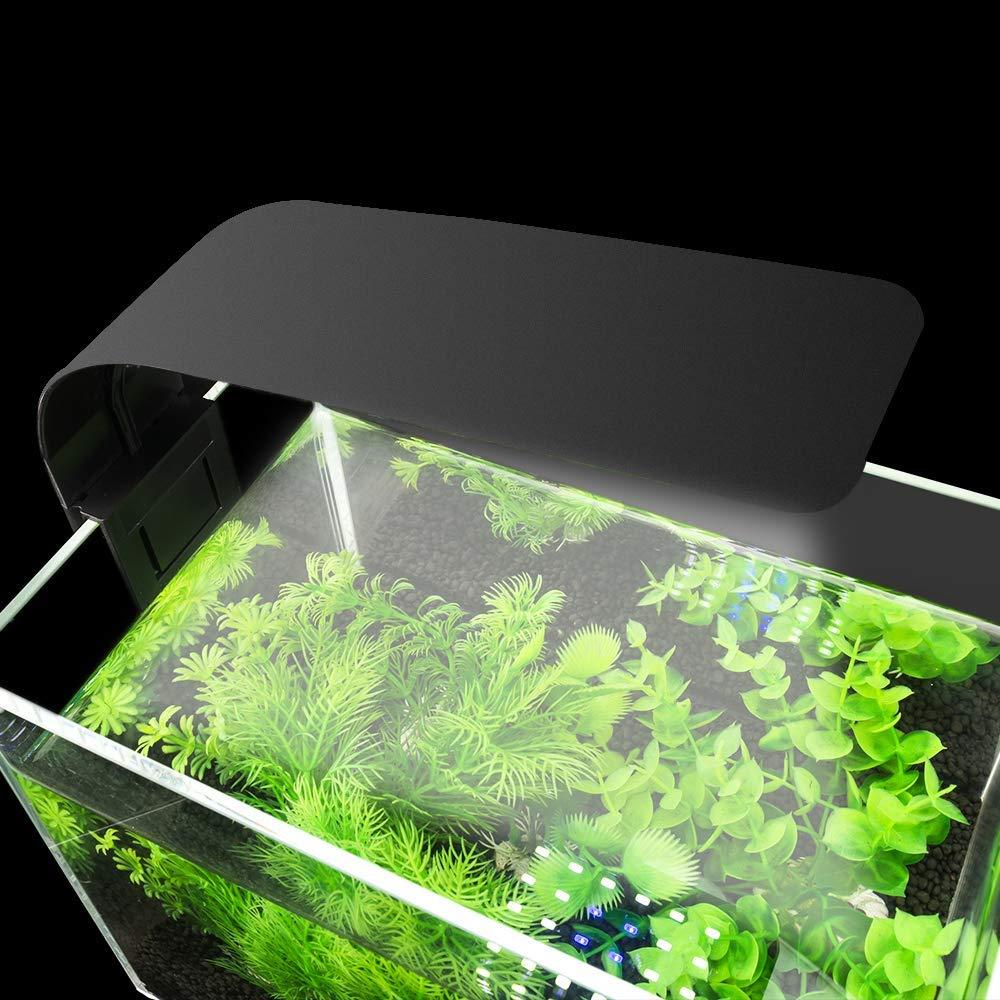 Aquarium LED Lighting Aquatic Plant Slim Clip-on Fish Tank Light EU Plug 15W Blue White Light 5730 LED Aquarium Plant Grow Light