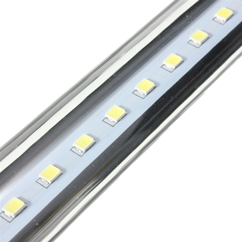 New Multicolor 20CM-60CM Waterproof Aquarium Fish Tank RGB LED Light Bar Submersible Lamp Aquarium Lighting