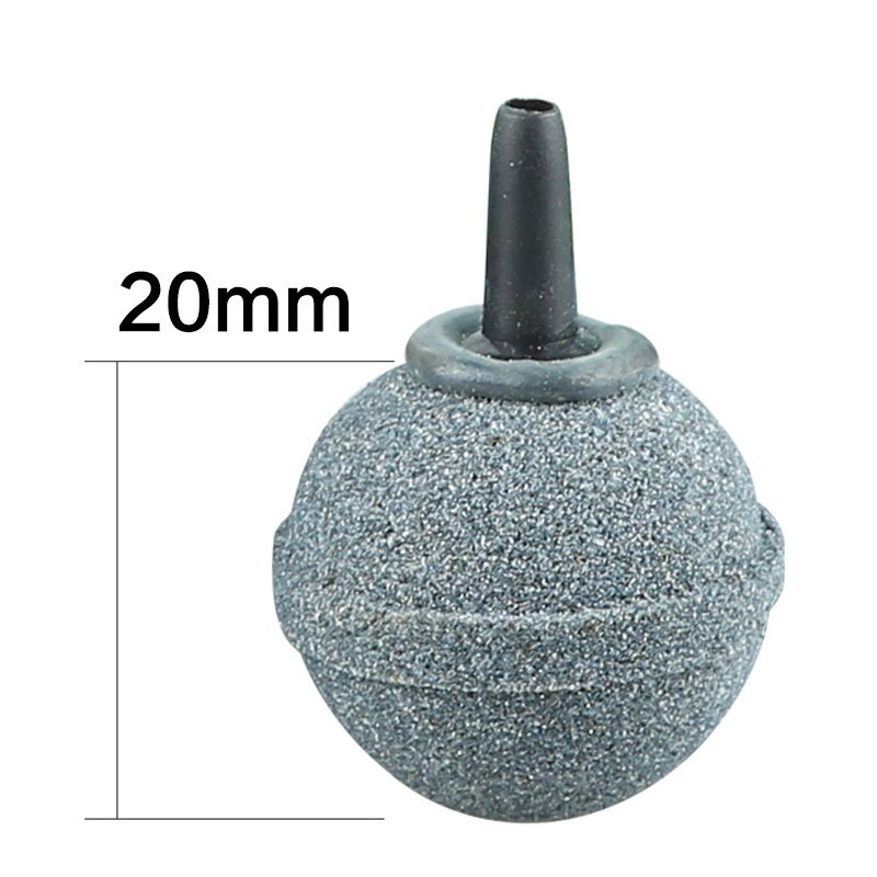 40mm Fish Tank Air Bubble Stone Aerator Pond Pump Air Stone Bubble Disk Aquarium Pump Hydroponic Oxygen Plate Air Pumps