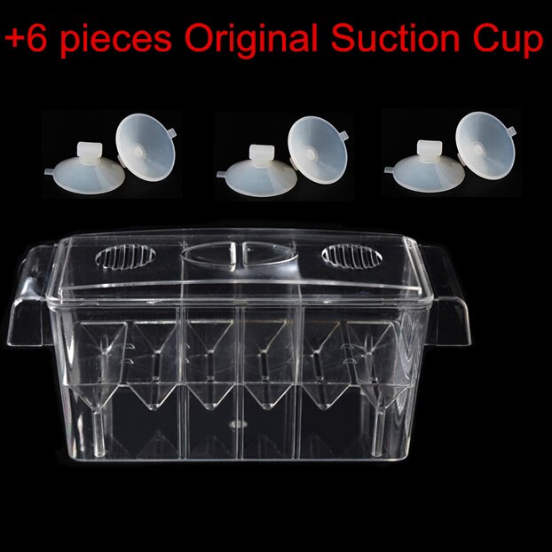 with 6 suction cups