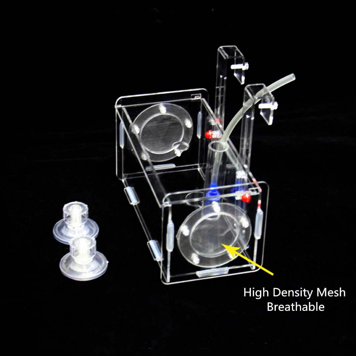 Acrylic Clear Fish Breeding Hatchery Incubator Aquarium Breeder Isolation Box Aquatic Fish Tank Terrarium Tools Accessories