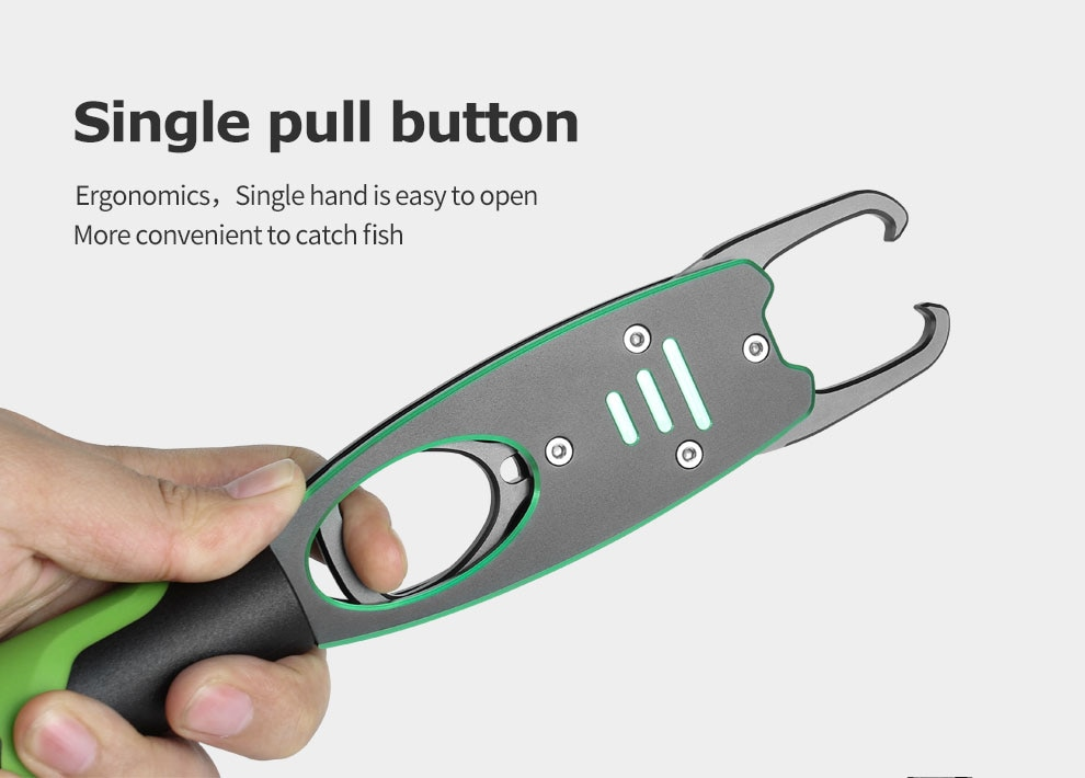 LINNHUE Aluminum Alloy Fishing Pliers Grip Set Fishing Tackle Hook Recover Cutter Line Split Ring High Quality Fishing Tool Hot