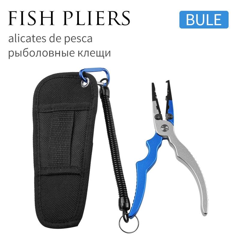 Blue pliers