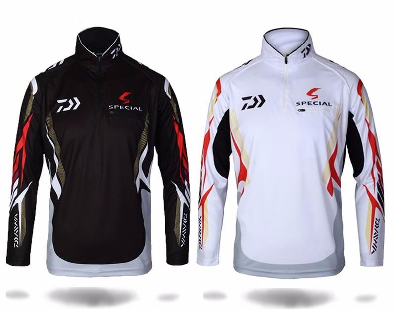 2020 New style 6 Size Fishing Clothing Quick Dry Daiwa Clothing Anti-UV Fishing Vests DAIWA Jacket DAWA Fishing Clothes