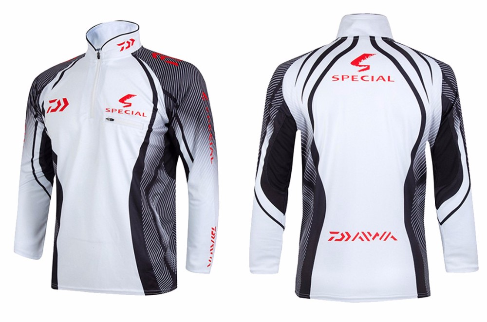 2020 New style 6 Size Fishing Clothing Quick Dry Daiwa Clothing Anti-UV Fishing Vests DAIWA Jacket DAWA Fishing Clothes