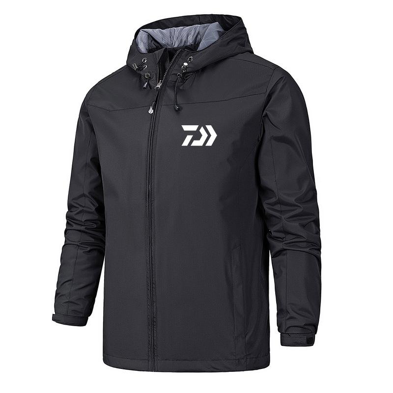 Daiwa Men Fishing Jacket Solider Tactical Camo Shirts Quick Drying Outdoor Hiking Trekking Clothes Men Sunscreen Fishing Shirts