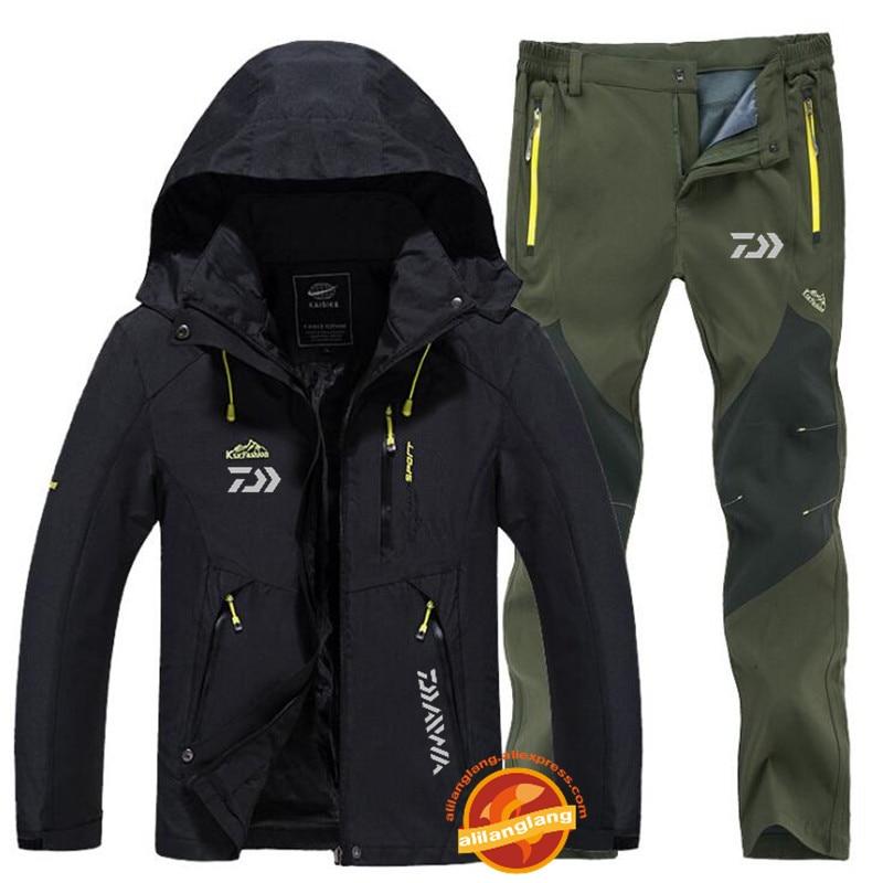Daiwa Fishing Clothes Sports Outdoor Fishing Clothing Quick-drying Pants Men's Fishing suit Breathable Sunscreen Fishing Jacket