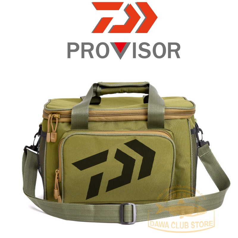 2020 New Fishing Bag Fishing Tackle Bags Multifunctional Waist Pack Fishing Lures Gear Storage Bag Single Shoulder Crossbody Bag