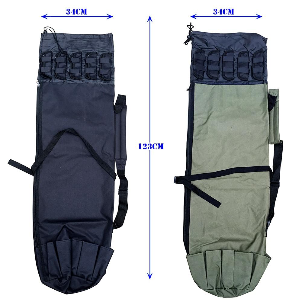 GHOTDA Fishing Bags Rod Pesca Carrier Fishing Lure Pole Tools Case Fishing Reel Gear Tackle Bag