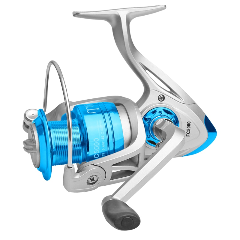 LINNHUE Fishing Reel FA1000-6000 No Gap Metal Spool Max Drag 8KG Pike Spinning Reel High Speed 5.2:1 Reel Fishing Gear Pesca