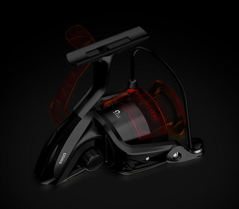 KastKing Brutus Super Light Spinning Fishing Reel 8KG Max Drag 5.0:1 Gear Ratio Freshwater Carp Fishing Coil