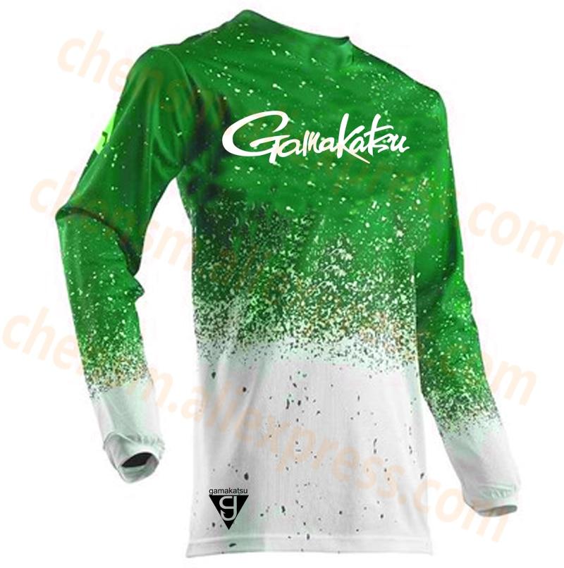 2019 Gamakatsu Men Clothing Ultrathin Long Sleeve Sunscreen Anti-uv Breathable Coat Summer Fishing Shirt Size XS-5XL Jacket
