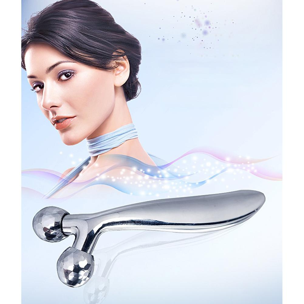 BellyLady Face Lift Y Shape Roller Massager Y Shape Roller Massager Face Massage Instrument Beauty Skin Health Care Tool Women