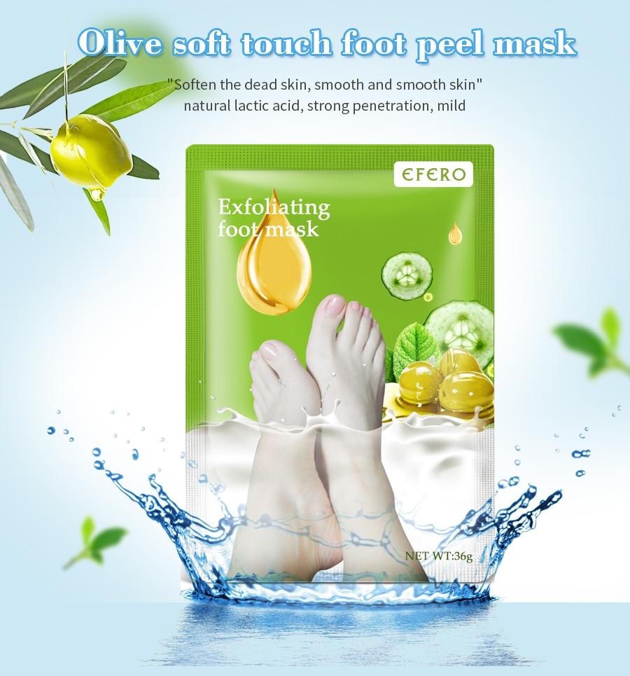 3Pack=6Pcs Foot Peel Mask Whitening Moisturizing Anti Cracked Foot Spa Pedicure Socks Exfoliating Foot Mask for Legs Foot Care