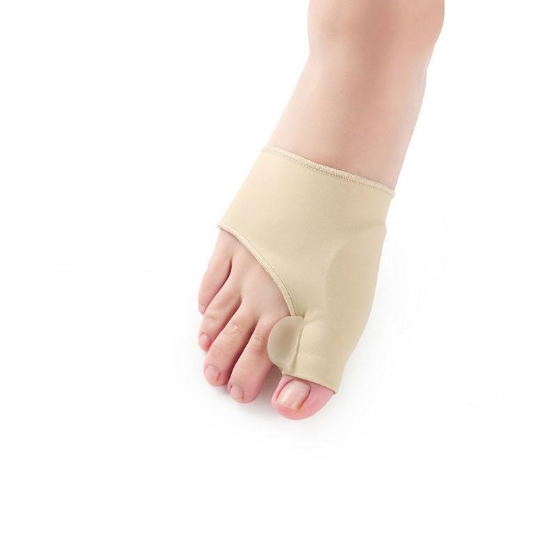 2Pcs=1Pair Toe Separator Hallux Valgus Bunion Corrector Orthotics Feet Bone Thumb Adjuster Correction Pedicure Sock Straightener