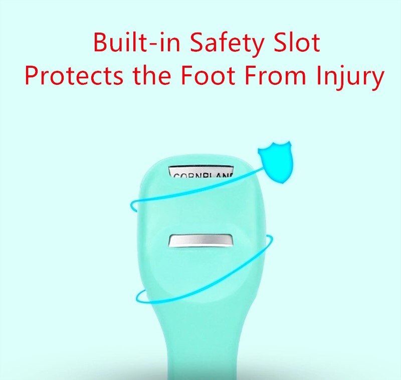 Professional Feet Care Tools Beauty Heel Cuticle Scraper Cutter Foot Care File Tool Pedicure Razor Blades for Pedicures Product