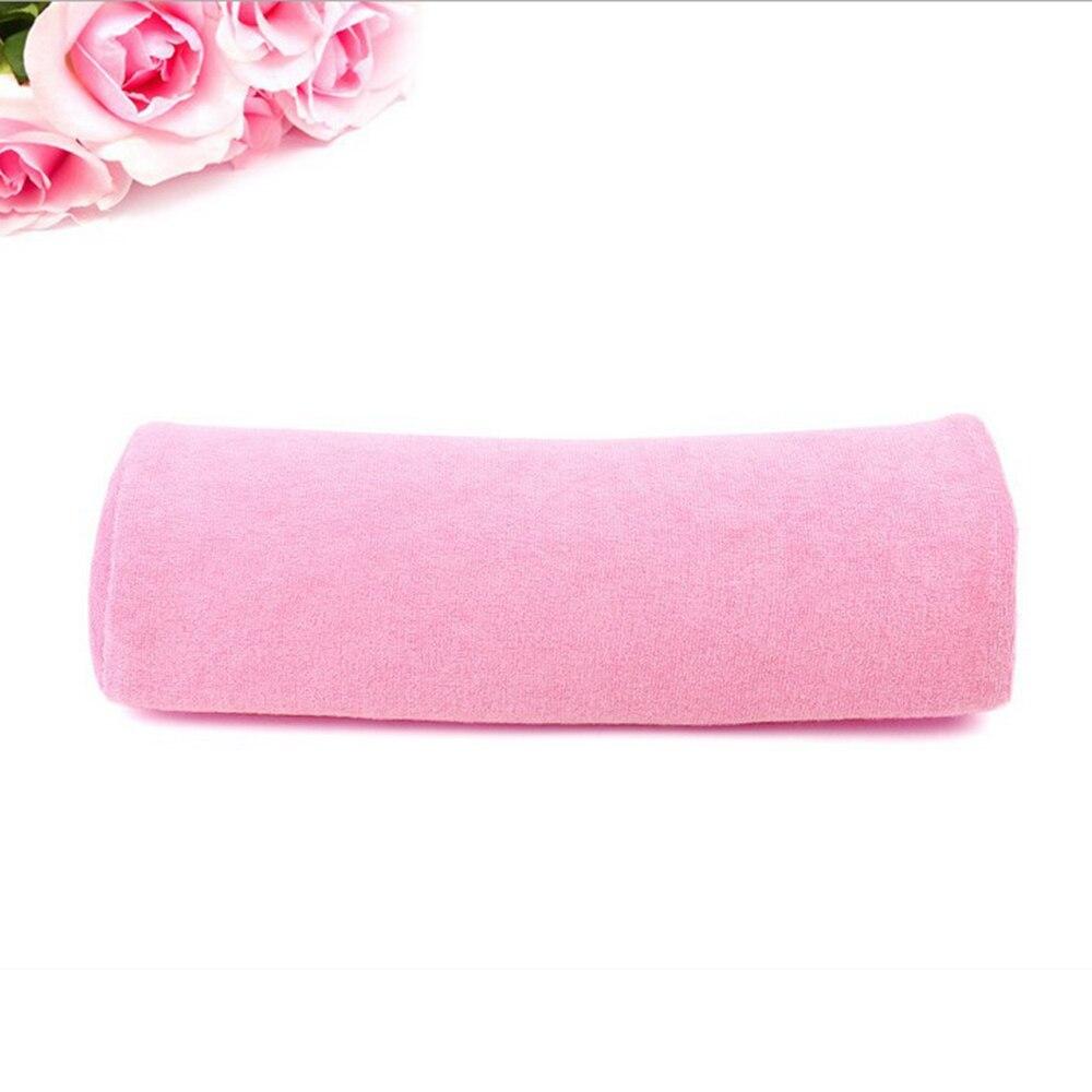 ELECOOL Pink Soft Column Hand Cushion Pillow Rest for Nail Art Nail Art Acrylic UV Gel Polish Manicure Salon Tool