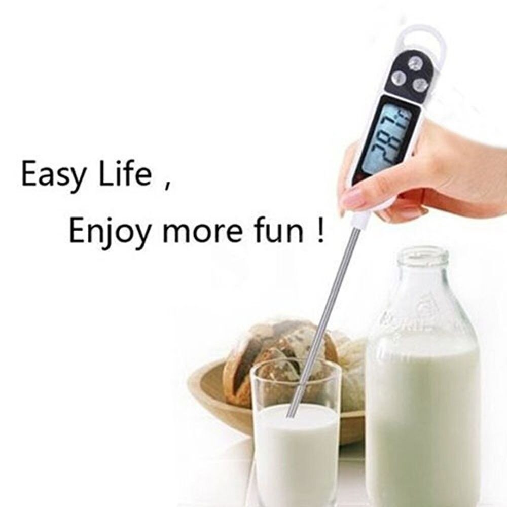 1pcs Healthy Living Digital Food Thermometer Temperature Kitchen Cooking Meat Thermometer Water Temperature