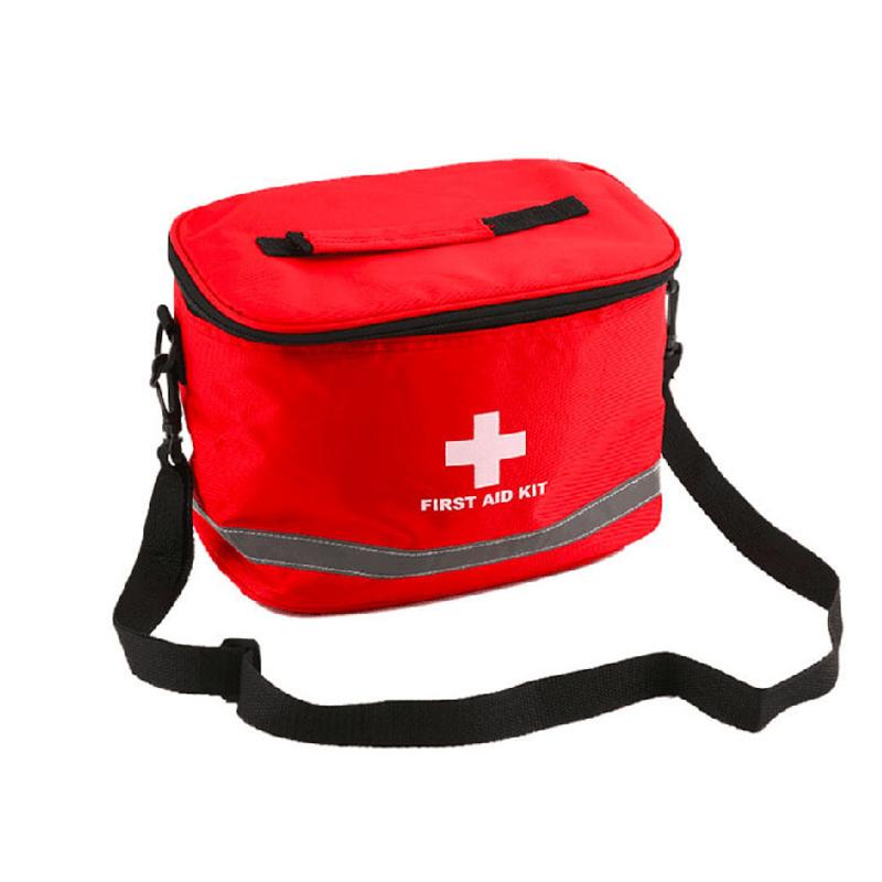 First Aid Kit Camping Military Kits Large Shoulder Strap Portable Car Emergency Medical Bag Home Travel Outdoor Storage Bag