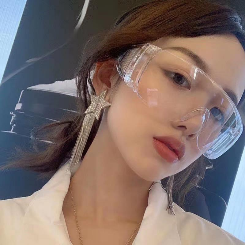 Clear Safety Goggles Work Eye Motorcycles Ride Glasses Wind Dust Car Use Glasses Auto Products
