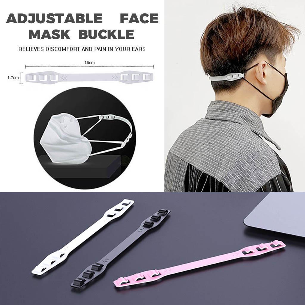 5PCS Adjustable Anti-slip Mask Ear Grips Extension Hook Face Masks Buckle Holder Accessories Antivirus Mask Accessories 20Arl