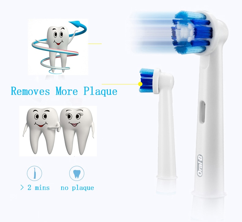 Oral B Sonic Electric Toothbrush Rotating Vitality D12013 Rechargeable Teeth Brush Oral Hygiene Tooth Brush Teeth Brush Heads
