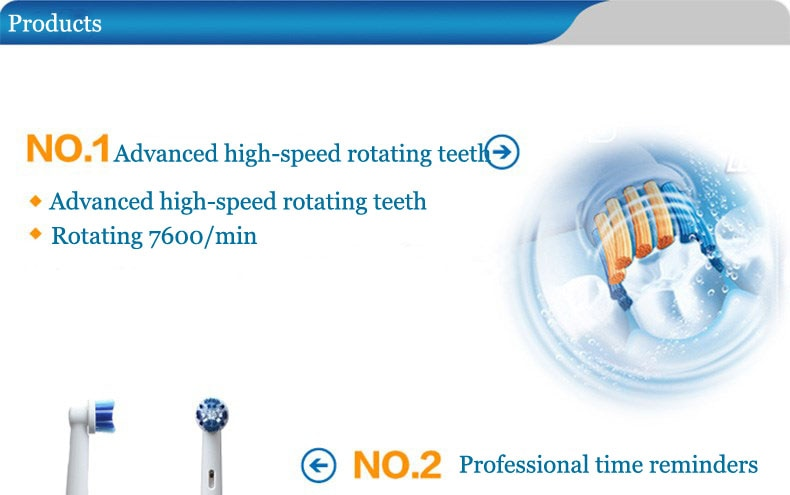 Oral B Sonic Electric Toothbrush D4 Precision Clean Electric Tooth Brush For Children Adults No Rechargeable Brush Heads Timer