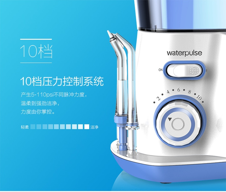 Waterpulse Dental Water Flosser Irrigator Oral Jet Teeth Cleaner Hydro Jet 800ml Water Tank water pick electric toothbrushes