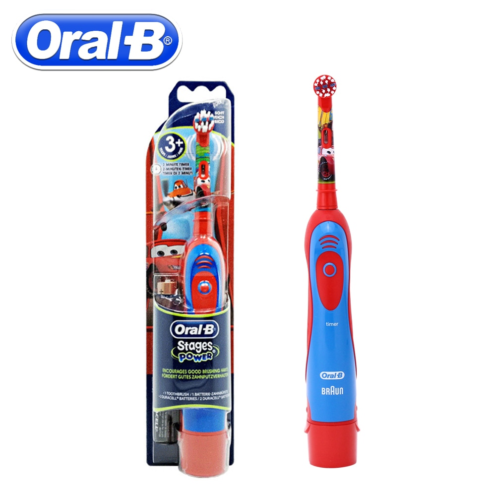 Oral B Children Electric Toothbrush Oral Care Kids Sonic Electronic Brush Stages Battery Power Tooth brush Electric