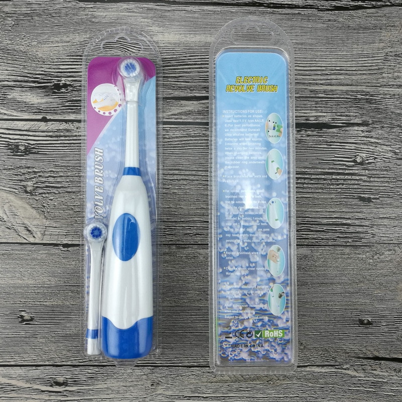 Electric Toothbrush For Children 4 color Care for oral health Soft brush (Replaceable brush head)