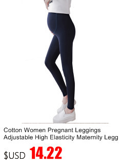 New Fashion Pregnancy Leggings Cotton Maternity Pants Adjustable High Wait Clothes for Pregnant Women Spring Summer 28%Off