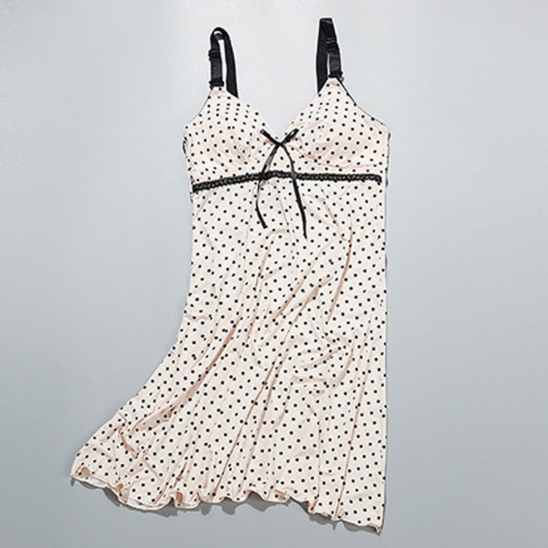 Maternity Clothes Breastfeeding Sleeveless Nursing Maternity Dresses for pregnant women Nightdress